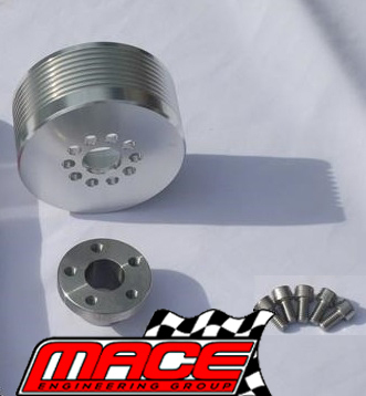 6PSI - 20PSI BOOST PULLEY UPGRADE KIT TO SUIT HOLDEN L67 SUPERCHARGED V6