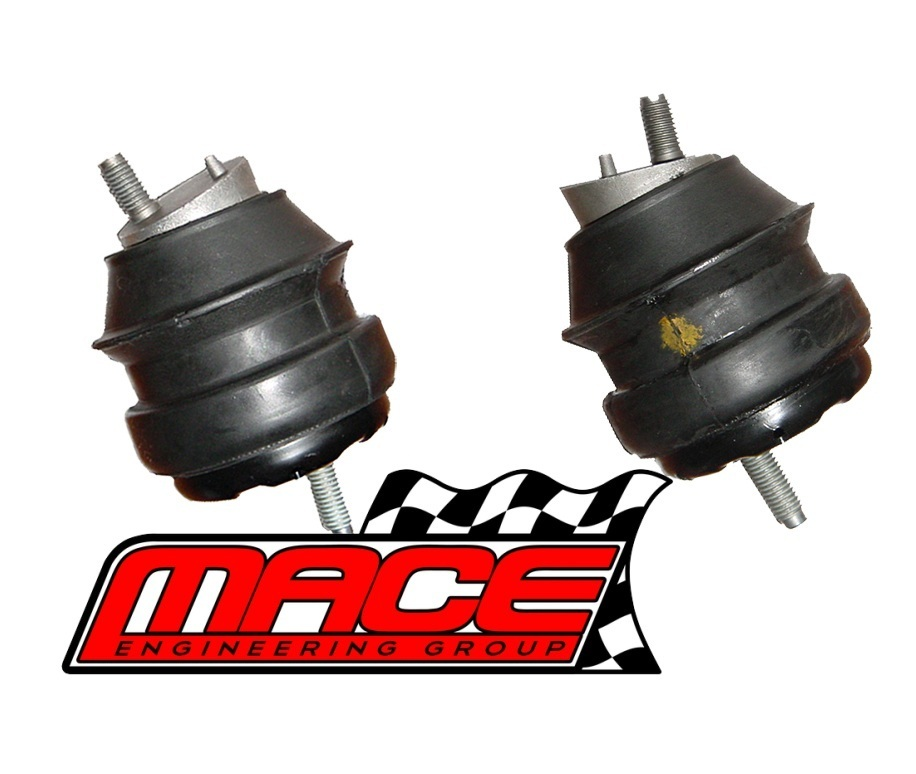 PAIR (LHS + RHS) OF STANDARD ENGINE MOUNTS TO SUIT HOLDEN COMMODORE VZ  ALLOYTEC LY7 LE0 3 6L V6