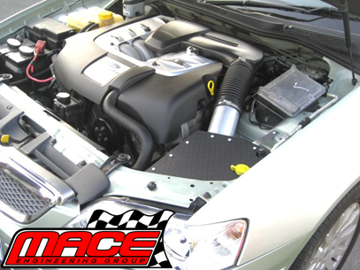 MACE COLD AIR INTAKE KIT TO SUIT FORD FALCON BA BF BARRA BOSS 220 230 260  5 4L V8