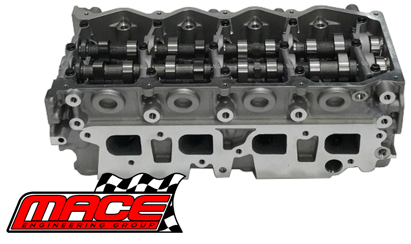 MACE ASSEMBLED 4-PORT CYLINDER HEAD FOR NISSAN NAVARA D22 D40 YD25DDT  YD25DDTI DOHC TURBO 2 5L I4