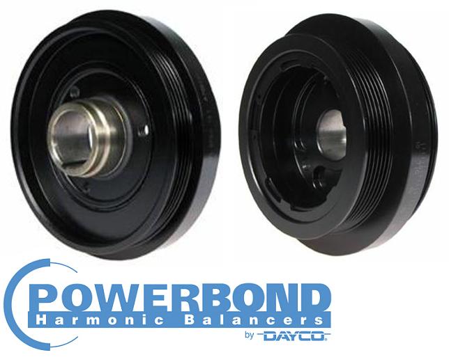 POWERBOND RACE PERFORMANCE 25% UNDERDRIVE HARMONIC BALANCER TO SUIT HSV LS2  LS3 6 0L 6 2L V8