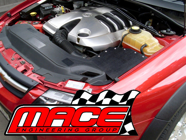 mace cold air intake kit to suit holden vt vx vy ls1 5 7l