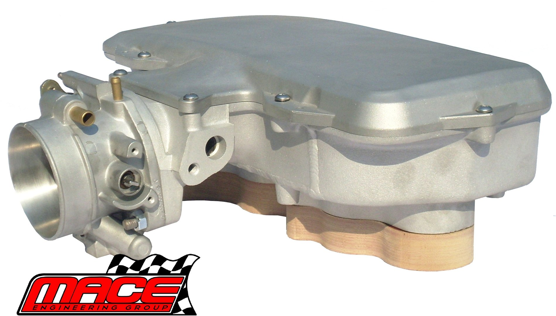 MACE PERFORMANCE MANIFOLD INSULATOR KIT TO SUIT HOLDEN ECOTEC L36 3 8L V6  (95-00)
