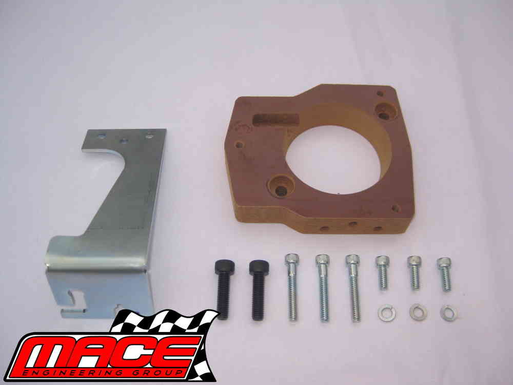 LS1 THROTTLE BODY ADAPTOR TO SUIT VN-VY V6 & VS-VY L67