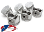 SET OF JE FORGED PISTONS AND RINGS TO SUIT HOLDEN ECOTEC L36 L67 SUPERCHARGED 3.8L V6