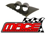 MACE PERFORMANCE TWIN GAUGE POD TO SUIT FORD FALCON BA BF XR8 BOSS 260 DOHC 5.4L V8