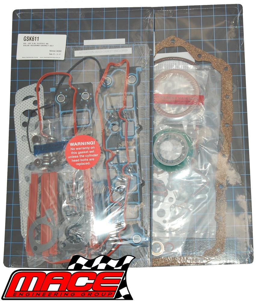 MACE FULL ENGINE GASKET KIT TO SUIT HOLDEN ECOTEC L36 3 8L V6