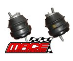 PAIR (LHS + RHS) OF STANDARD ENGINE MOUNTS TO SUIT HOLDEN COMMODORE VZ ALLOYTEC LY7 LE0 3.6L V6