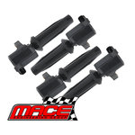 SET OF 4 MACE STANDARD REPLACEMENT IGNITION COILS TO SUIT MAZDA3 BK LFDE 2.0L I4