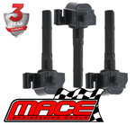 SET OF 3 MACE STANDARD REPLACEMENT IGNITION COILS TO SUIT TOYOTA AVALON MCX10R 1MZFE 3.0L V6