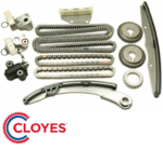 CLOYES TIMING CHAIN KIT WITH GEARS TO SUIT NISSAN NAVARA D40 VQ40DE 4.0L V6