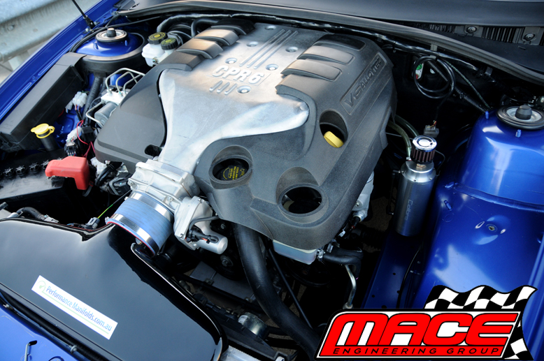 MACE PERFORMANCE CPR6 INTAKE MANIFOLD TO SUIT HOLDEN ALLOYTEC LY7 LE0 3 6L  V6