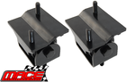 PAIR OF UNBREAKABLE ENGINE MOUNTS TO SUIT HOLDEN BUICK ECOTEC LN3 L27 L36 L67 SUPERCHARGED 3.8L V6