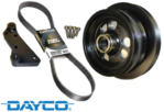 POWERBOND OVERDRIVE POWER PULLEY KIT TO SUIT HSV CLUBSPORT R8 GEN-F LSA SUPERCHARGED 6.2L V8​