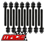 MACE HEAD BOLT SET TO SUIT FORD BARRA 182 190 195 E-GAS ECOLPI 240T 245T 270T 325T TURBO 4.0L I6