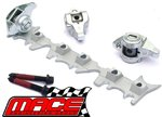 MACE HIGH RATIO ROLLER ROCKER AND PUSHROD KIT TO SUIT HOLDEN ECOTEC L36 L67 SUPERCHARGED 3.8L V6
