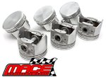 SET OF 6 MACE REPLACEMENT PISTONS TO SUIT FORD FAIRMONT EF EL MPFI SOHC 12V 4.0L I6