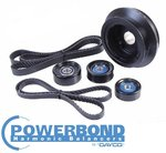 POWERBOND 25% UNDERDRIVE POWER PULLEY KIT TO SUIT HSV LS2 LS3 6.0L 6.2L V8