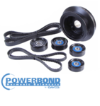 POWERBOND 25% UNDERDRIVE POWER PULLEY KIT TO SUIT HOLDEN L77 6.0L V8