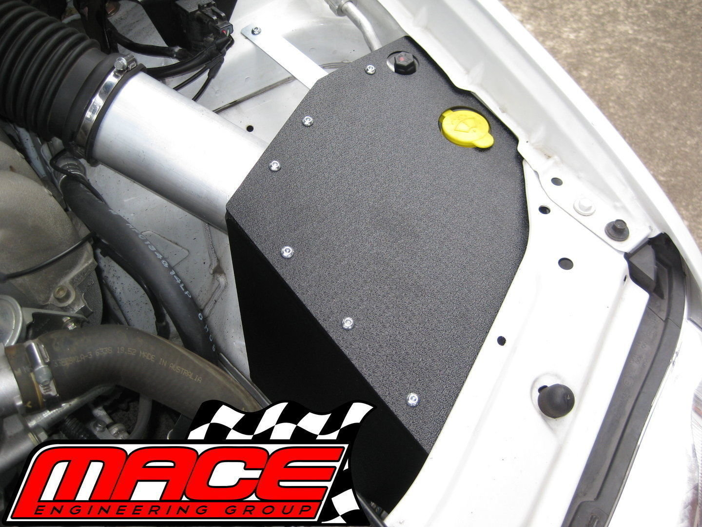 MACE COLD AIR INTAKE KIT TO SUIT FORD FALCON BA BF BARRA 182 190 240T 245T  TURBO E-GAS 4 0L I6