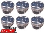 SET OF MACE PISTONS TO SUIT HOLDEN RODEO RA ALLOYTEC LCA 3.6L V6