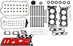 MACE VALVE REGRIND GASKET SET AND HEAD BOLTS COMBO PACK TO SUIT HOLDEN SIDI LF1 LFW 3.0L V6
