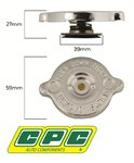 CPC RADIATOR CAP TO SUIT FORD TS50 AU WINDSOR OHV MPFI 5.0L 5.6L V8
