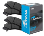ULTIMA FULL BRAKE PAD SET FOR HOLDEN ALLOYTEC ECOTEC LY7 LE0 L36 L67 SUPERCHARGED 3.6L 3.8L V6