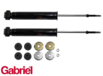 PAIR OF GABRIEL REAR ULTRA GAS SHOCK ABSORBERS TO SUIT FORD FALCON XE XF EA EB ED EF EL AU SEDAN