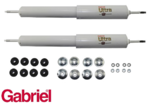 2 X GABRIEL REAR ULTRA GAS HD SHOCK ABSORBER FOR FORD FALCON XR-XH EA-EL SEDAN WAGON UTE VAN HARDTOP