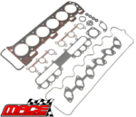 VALVE REGRIND GASKET SET & HEAD BOLTS PACK TO SUIT FORD MPFI SOHC INTECH NON VCT 4L I6 (FROM 12/97)