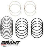 GRANT CAST PISTON RING SET TO SUIT FORD FAIRMONT XR-XE WINDSOR CLEVELAND 289 302 351 4.7L 4.9 5.8 V8