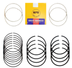 NIPPON CHROME PISTON RING SET TO SUIT DAIHATSU CHARADE G102 G200 HCE SOHC 1.3L I4