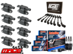 MACE IGNITION SERVICE KIT WITH 1MM GAP SPARK PLUGS TO SUIT HSV LS2 LS3 6.0L 6.2L V8