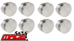 SET OF 8 MACE PISTONS TO SUIT HOLDEN STATESMAN HQ HJ HX HZ WB 308 5.0L V8