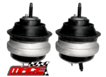 PAIR OF MACE FRONT ENGINE MOUNTS TO SUIT FORD TERRITORY SX SY BARRA 182 190 245T TURBO 4.0L I6