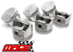 SET OF 6 MACE PISTONS TO SUIT HOLDEN ONE TONNER HQ HJ HX HZ WB 202 RED BLUE 3.3L I6