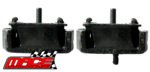 PAIR OF MACE FRONT ENGINE MOUNTS TO SUIT MAZDA G6 MPFI SPFI SOHC WL WLAT TURBO DIESEL 2.5L 2.6L I4
