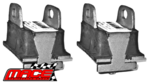 PAIR OF FRONT ENGINE MOUNTS TO SUIT HOLDEN MONARO HQ HJ 202 RED 3.3L I6