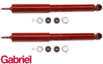 PAIR OF GABRIEL GUARDIAN REAR GAS SHOCK ABSORBERS TO SUIT TOYOTA CRESSIDA MX62R MX73R SEDAN