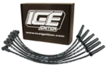 ICE 9MM PRO 100 SERIES IGNITION LEADS TO SUIT HOLDEN BUICK L27 3.8L V6