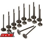 SET OF 16 MACE STANDARD INTAKE & EXHAUST VALVES TO SUIT MITSUBISHI MAGNA TF 4G64 2.4L I4