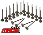 24 X MACE STANDARD INTAKE AND EXHAUST VALVE TO SUIT TOYOTA LANDCRUISER FZJ80R FZJ105R 1FZ-FE 4.5L I6