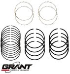 GRANT CAST PISTON RING SET TO SUIT HOLDEN KINGSWOOD HT HG HQ HJ HX HZ 308 5.0L V8