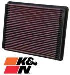 K&N REPLACEMENT AIR FILTER TO SUIT CHEVROLET SUBURBAN 2500 L18 8.1L V8