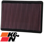 K&N REPLACEMENT AIR FILTER TO SUIT JEEP COMMANDER XH EXL TURBO DIESEL 3.0L V6