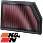 K&N REPLACEMENT AIR FILTER TO SUIT JEEP CHEROKEE KL ED6 EBT TURBO DIESEL 2.0L 2.4L I4