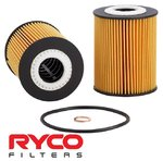 RYCO HIGH FLOW CARTRIDGE OIL FILTER TO SUIT HOLDEN EPICA EP Z20S1 TURBO DIESEL 2.0L I4