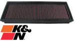 K&N REPLACEMENT AIR FILTER TO SUIT FORD MONDEO HC HD HE ZT25 2.5L V6