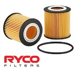 RYCO HIGH FLOW CARTRIDGE OIL FILTER TO SUIT FORD RANGER PX YN2S P4AT TWIN TURBO DIESEL 2.0L 2.2L I4